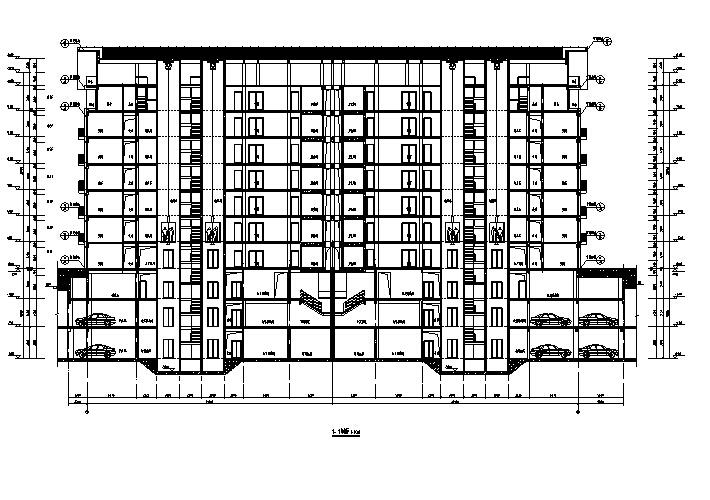 [河南]高层框剪结构住宅施工图(含多栋楼招标与正式版...施工图下载【ID:166335199】