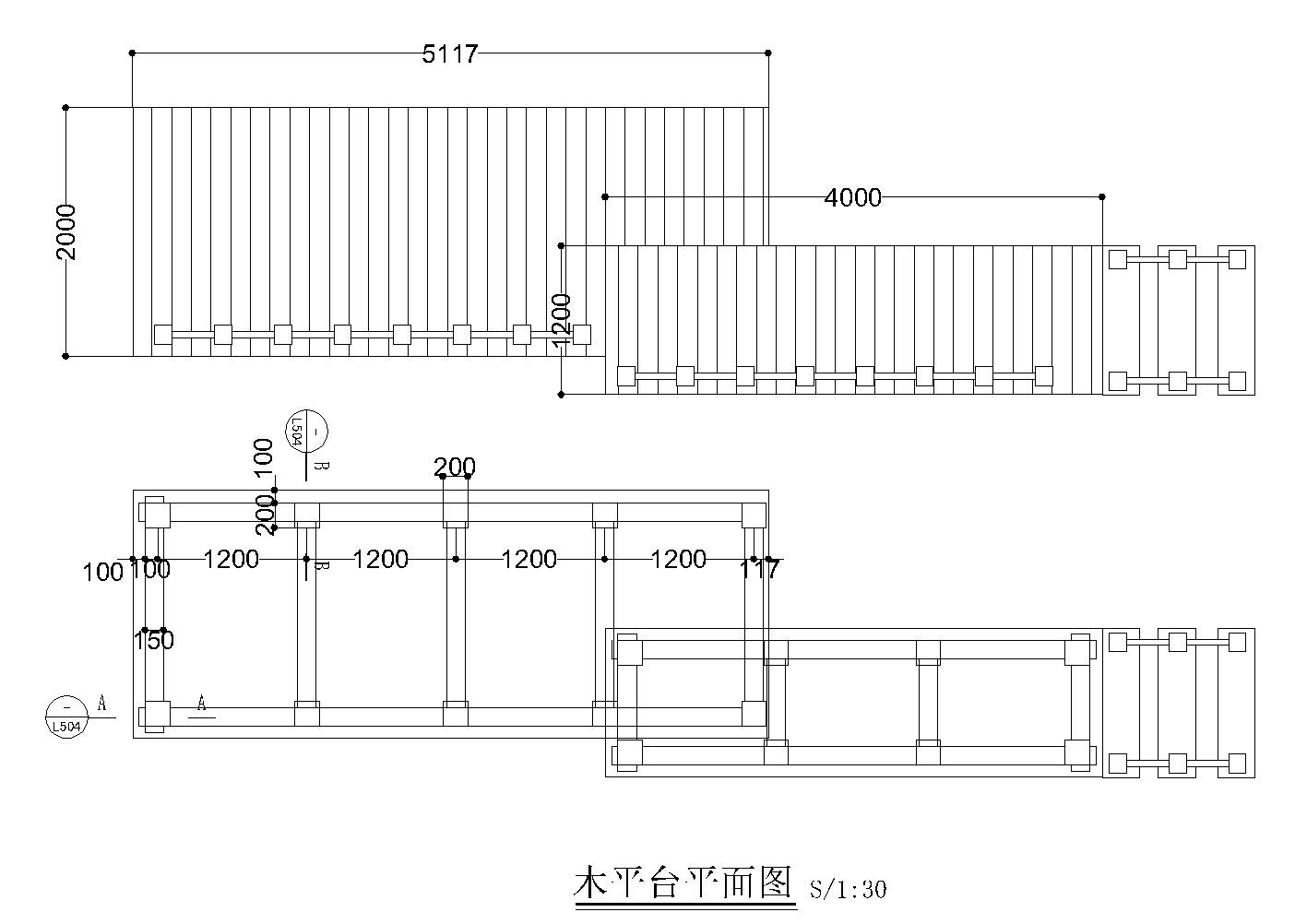 汤臣别墅庭院景观设计CAD施工图施工图下载【ID:160687190】