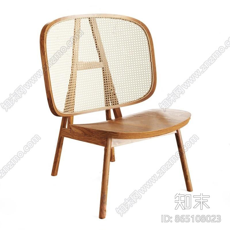 现代单椅3D模型下载【ID:865108023】