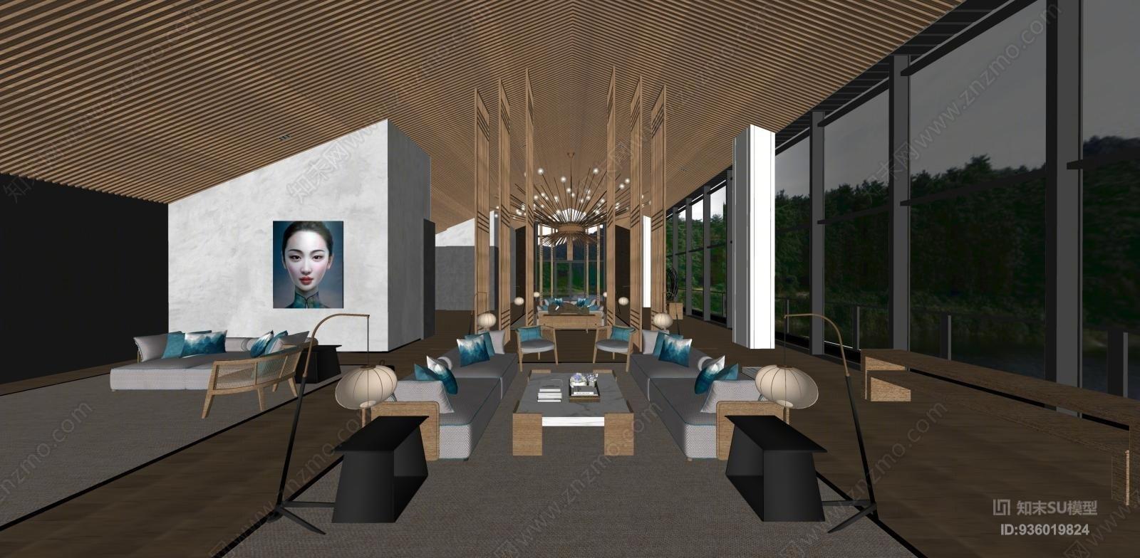集艾酒店休息区设计