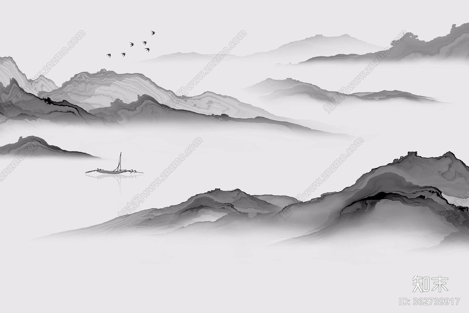 中式壁画贴图贴图下载【ID:362739917】