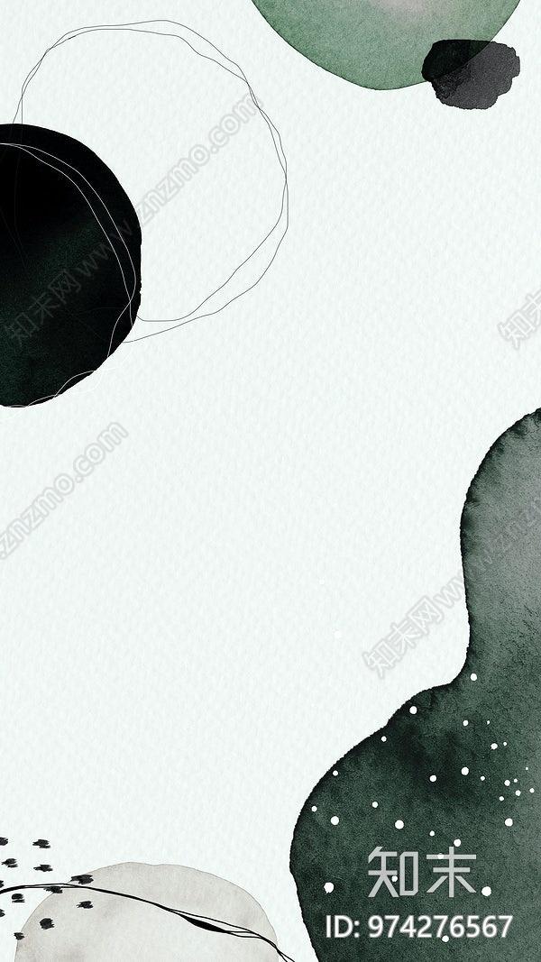 现代抽象壁画贴图下载【ID:974276567】
