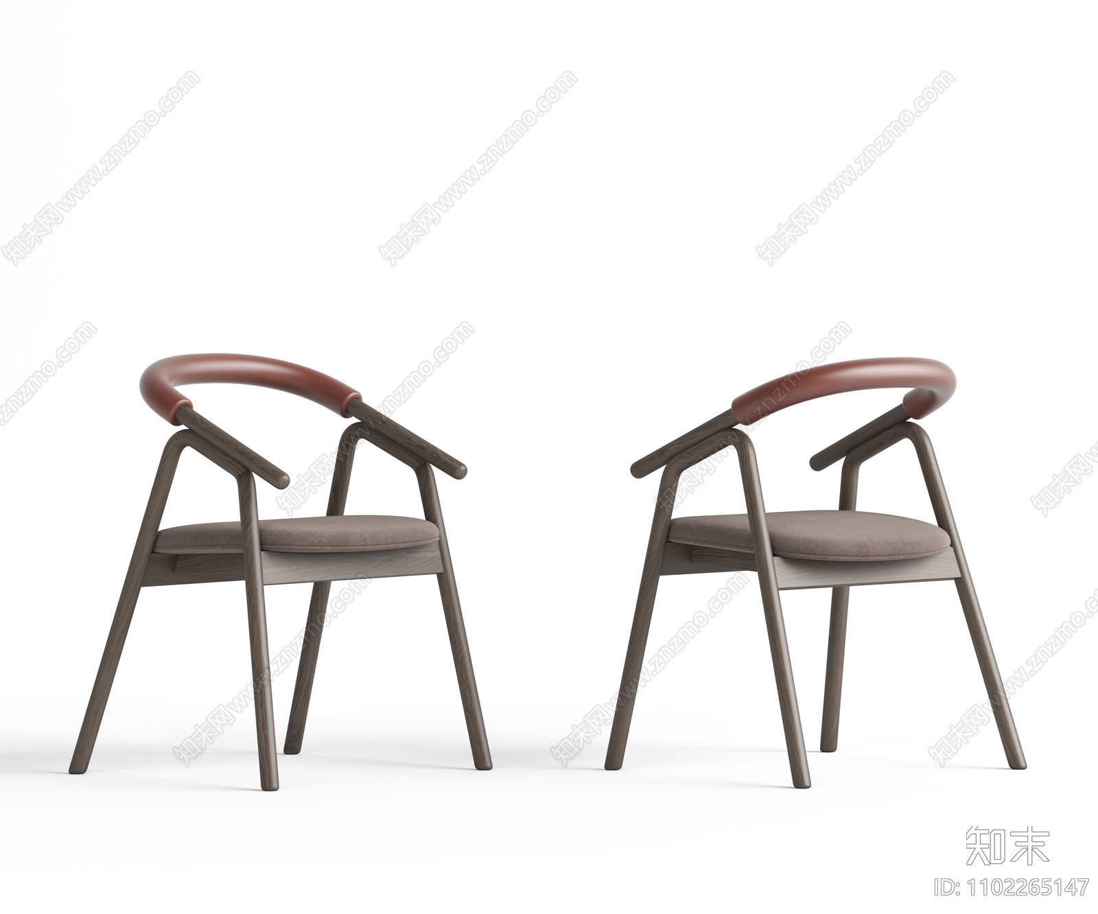 现代休闲椅SU模型下载【ID:1102265147】