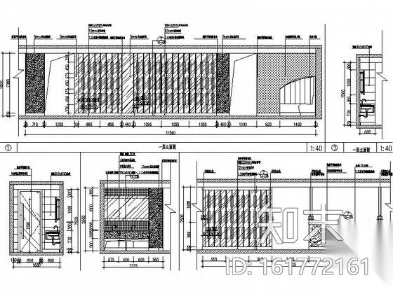 [宁波]连锁特色中餐厅施工图(含效果)施工图下载【ID:161772161】
