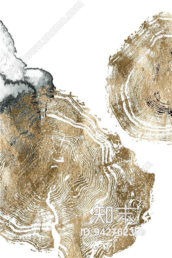 现代抽象挂画装饰画贴图下载【ID:942762309】
