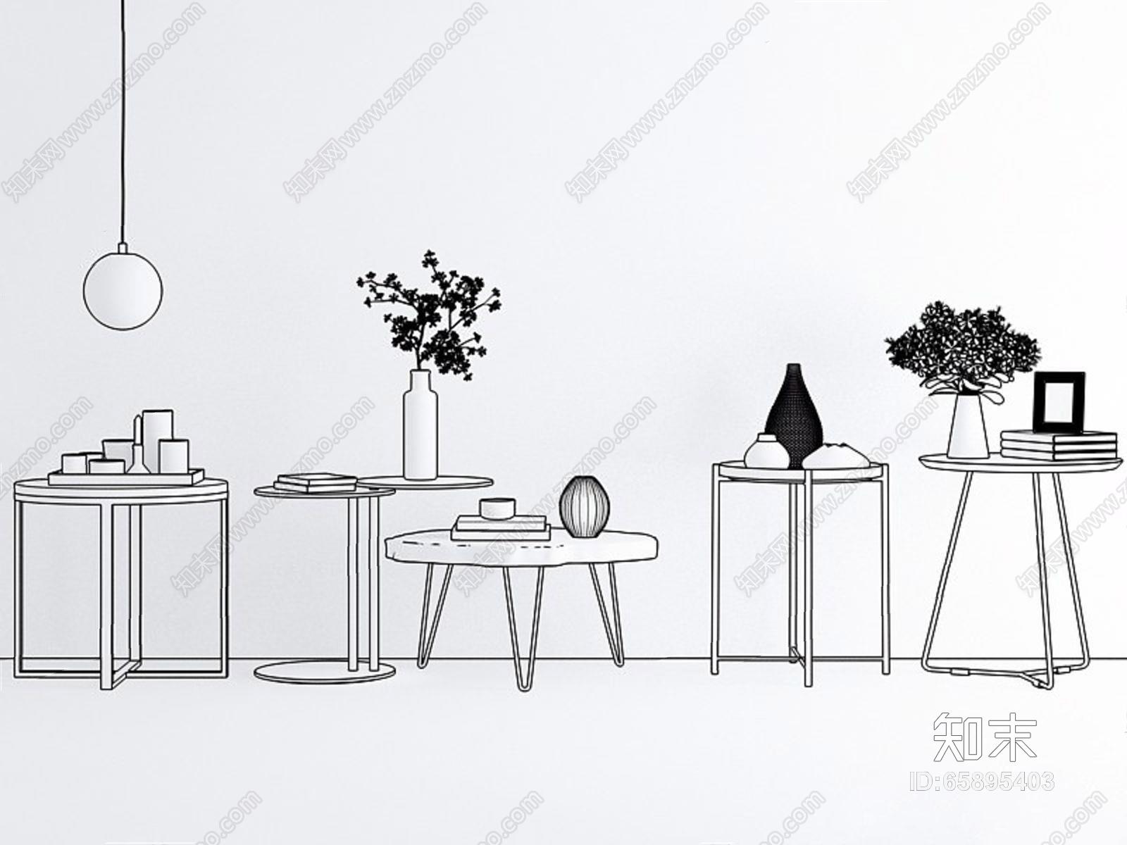 极简现代茶几 现代茶几 北欧茶几 角几 饰品 摆件 花艺 吊灯 圆几 边几
