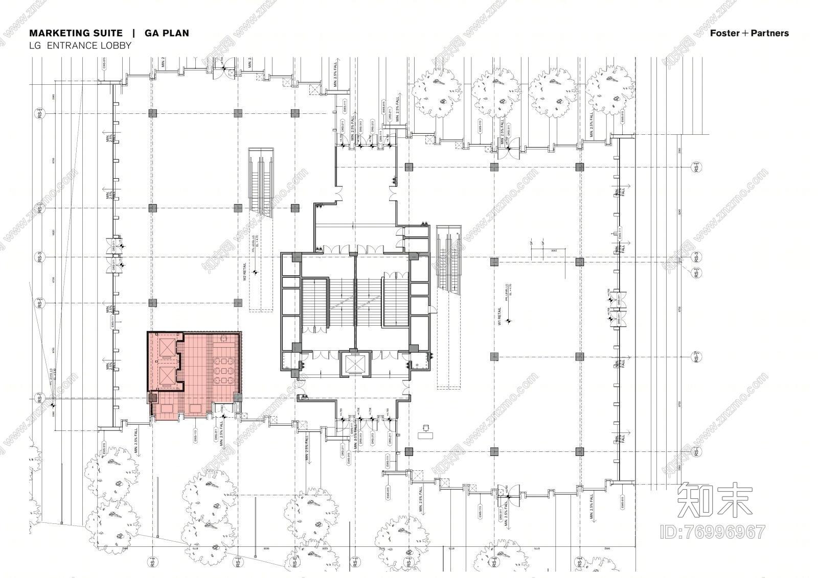 【如恩&设计共和】大涌华润城新展示中心丨设计方案+软装方案+施工图丨165M丨施工图下载【ID:76996967】