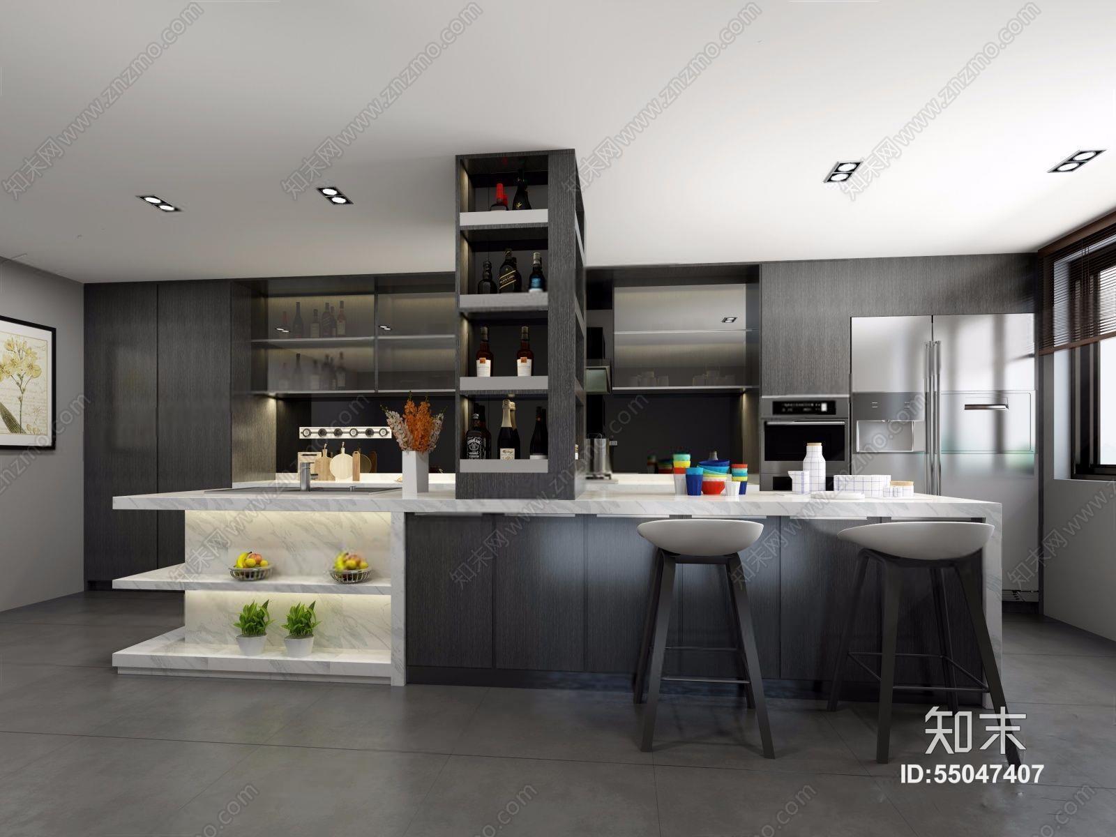 知末3d模型库提供精美好看的现代 家居开放厨房效果图素材免费下载,本作品主题是现代厨房 现代厨房 吧台 吧椅 橱柜 双开门冰箱 厨具,ID是55047407,格式是MAX 2014,建议使用3Dmax 2012 软件打开,该现代家居开放厨房图片素材大小是41.01M,灯光详情:VR灯光,材质贴图:VR材质有贴图。现代厨房 现代厨房 吧台 吧椅 橱柜 双开门冰箱 厨具是由室内设计师惹人爱 Triste上传.