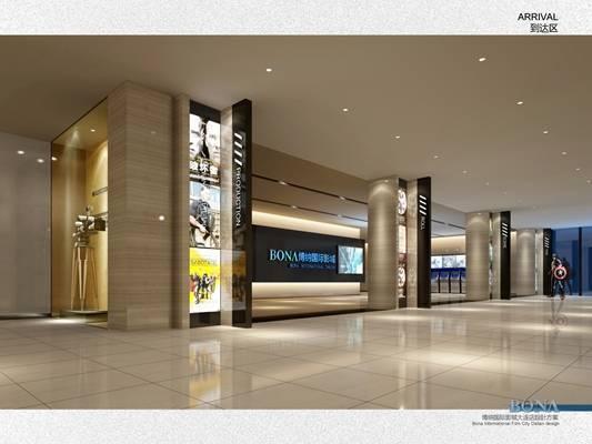 【BONA博纳国际影城】大连中央大道店丨设计方案丨装施图丨水暖电丨307M丨施工图下载【ID:36997965】