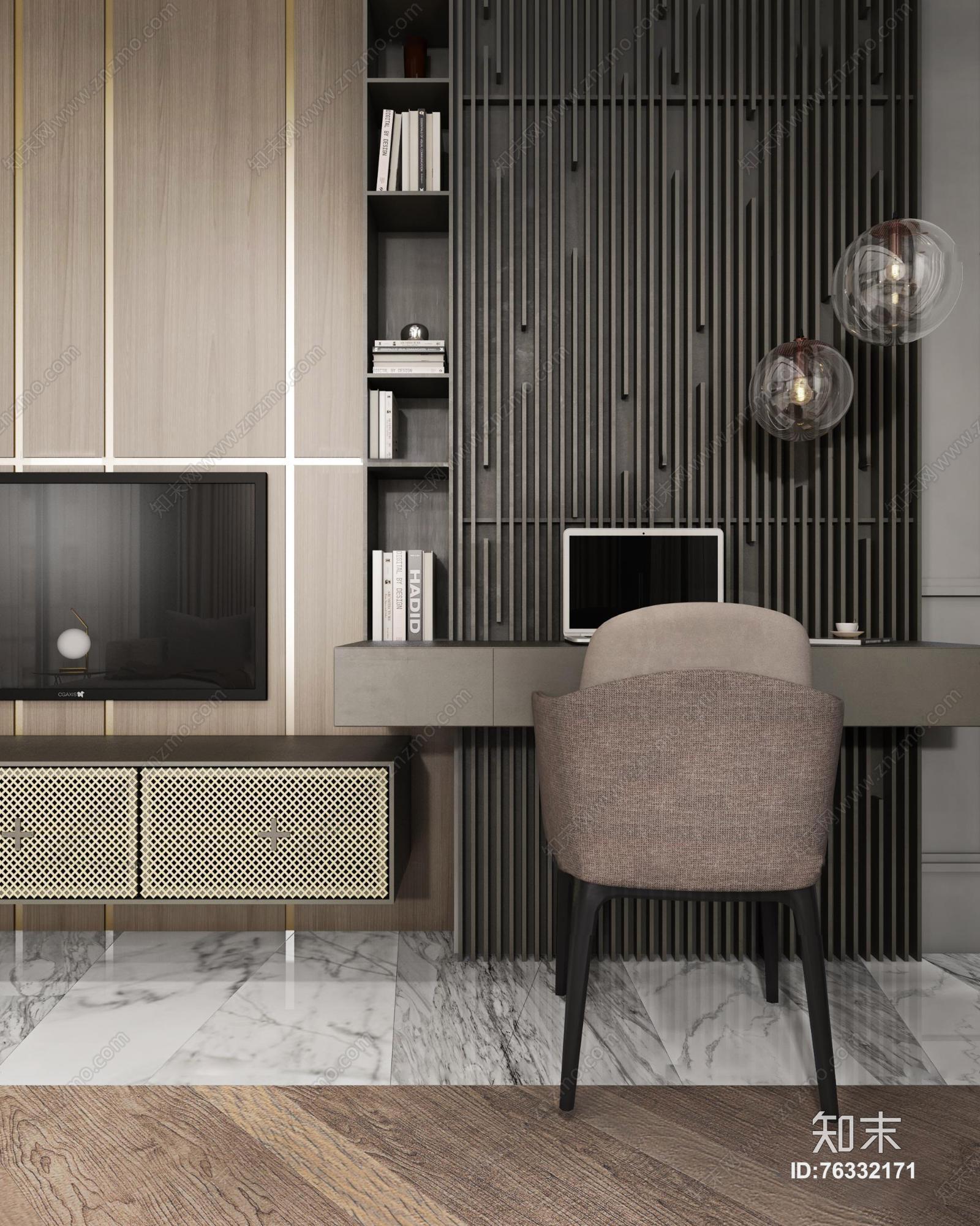 现代客厅 装饰灯 落地灯 台灯 单双人沙发 茶几 装饰柜 书桌椅 书架
