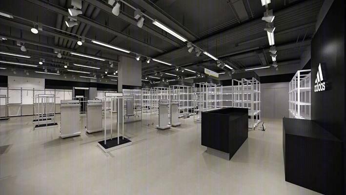 【adidas】阿迪达斯专卖店丨效果图+施工图+机电图丨110M丨施工图下载【ID:76997902】