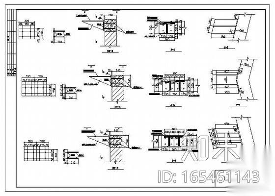 某楼顶加层钢结构图纸施工图下载【ID:165461143】