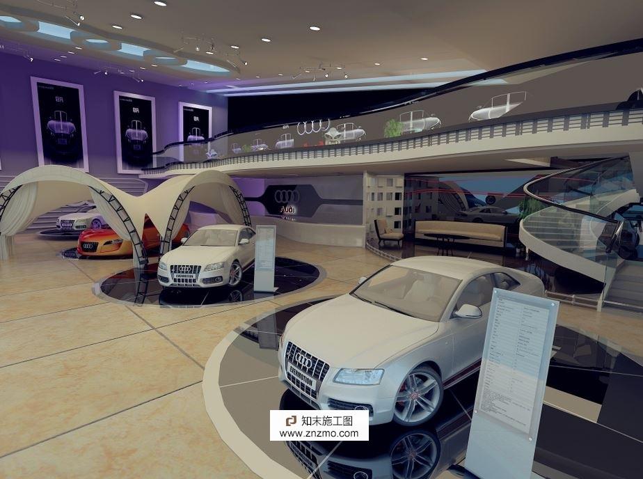 cad摩托车平面模型_奥迪汽车展厅4s店,汽车专卖店,摩托车专卖店展厅_知末案例馆