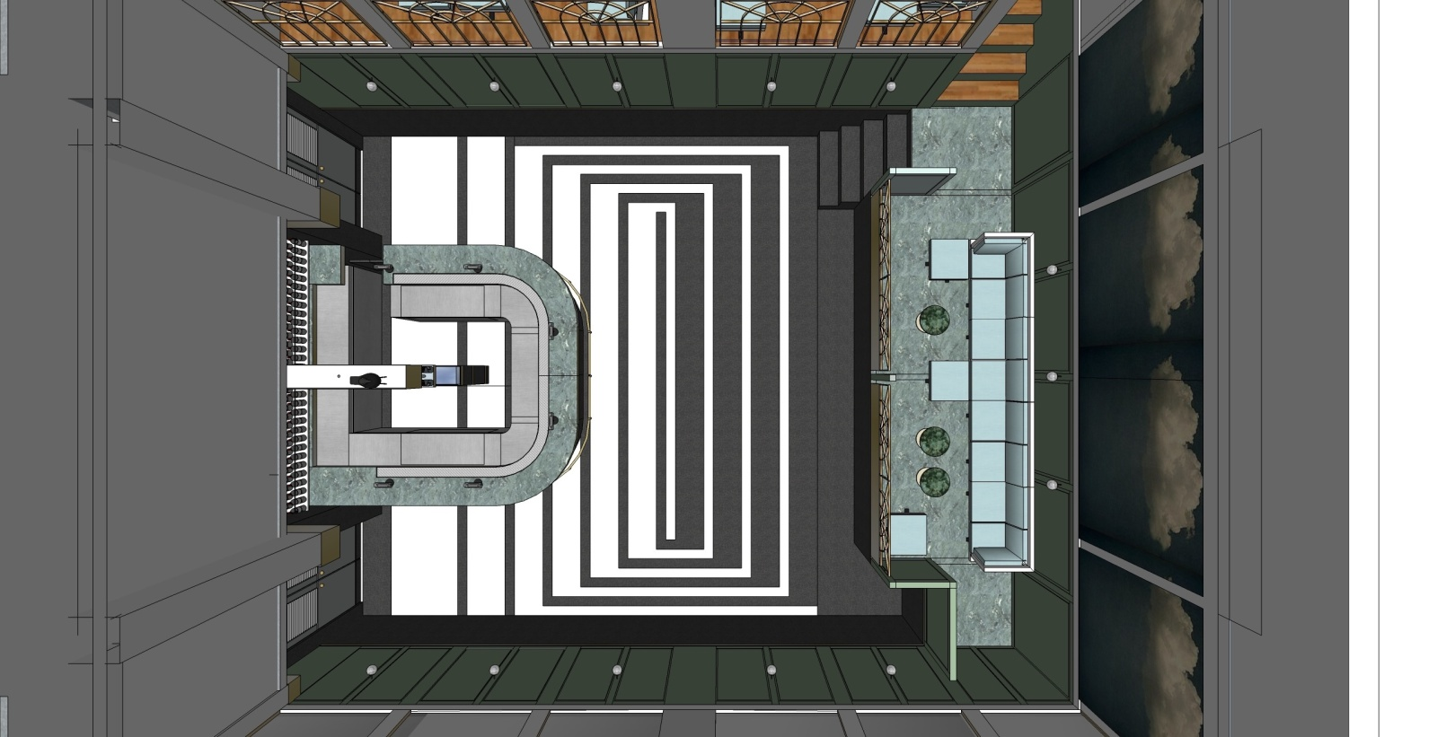 北京三里屯300㎡酒吧施工图+给排水电气图纸施工图下载【ID:160713139】