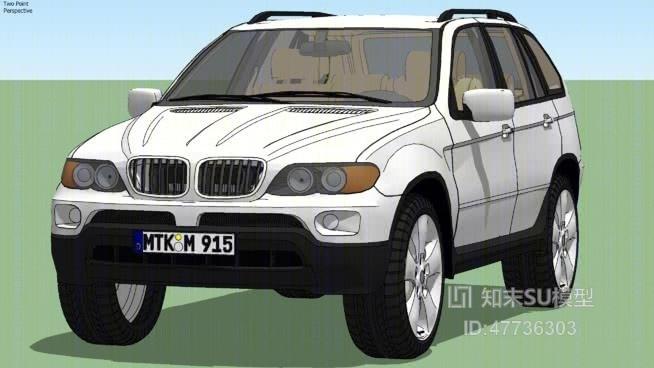 汽车SU模型下载【ID:47736303】