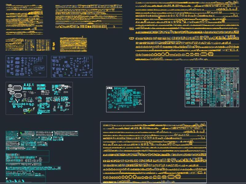 CAD平面图库施工图下载【ID:149675118】