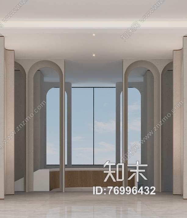 【香港无间】万科北京翡翠长安会所项目施工图下载【ID:76996432】