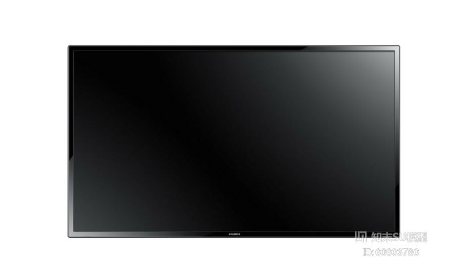液晶电视SU模型