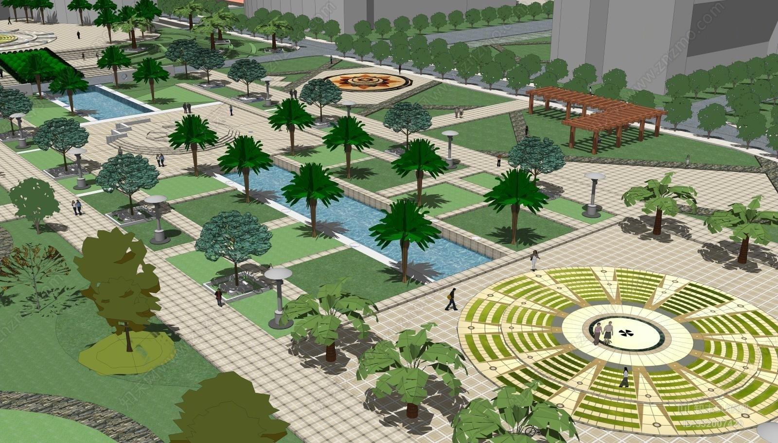 大学广场 现代主义