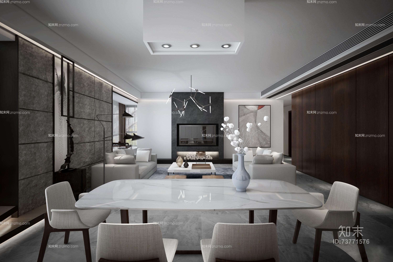 后现代家居客厅