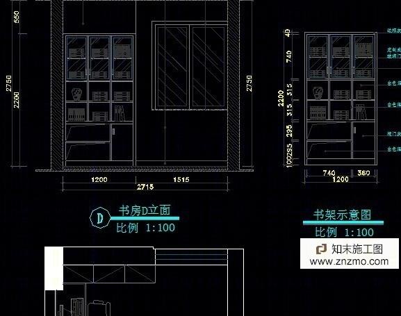 三室两厅施工图施工图下载【ID:36938668】