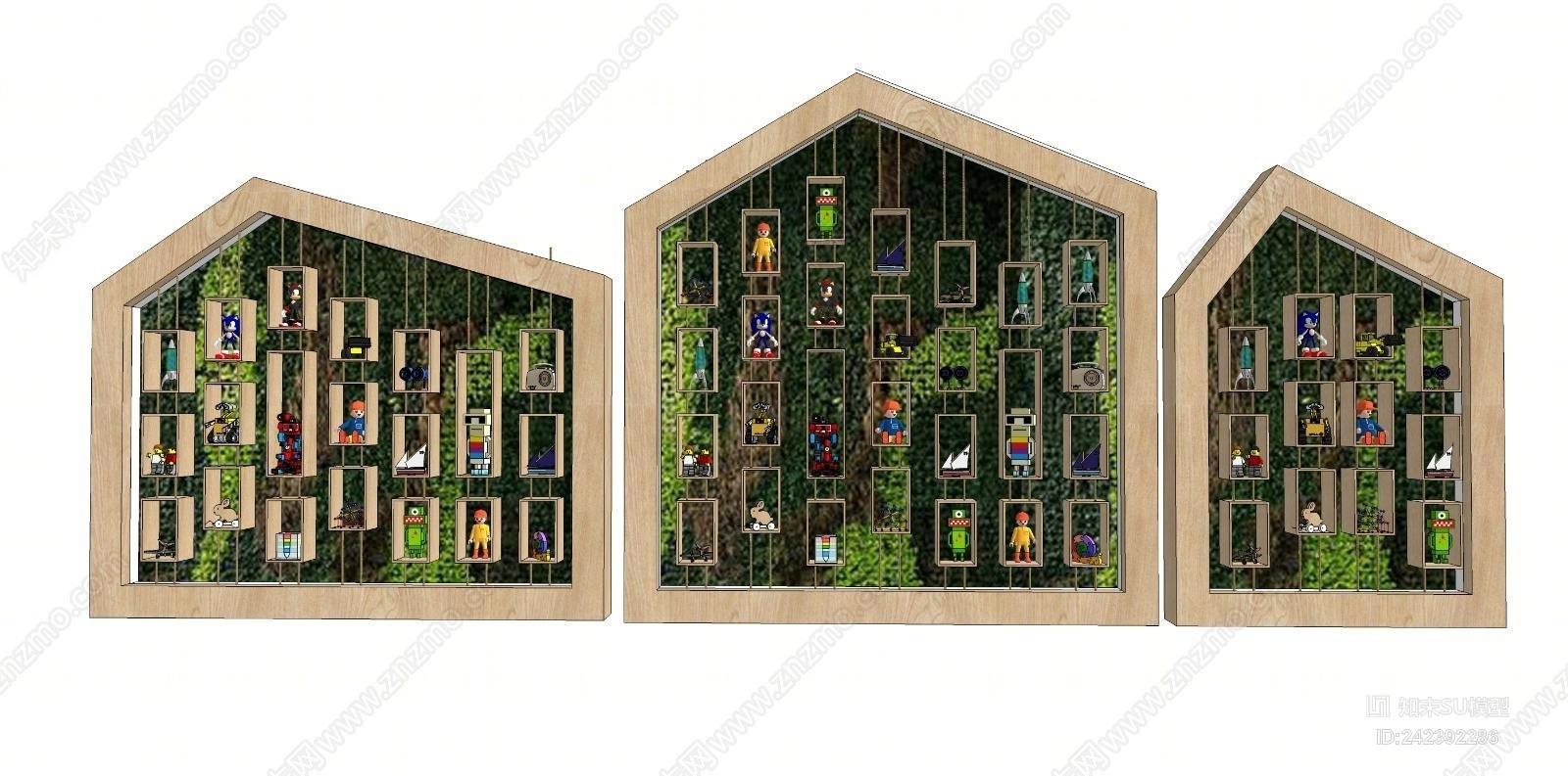 现代装饰植物墙