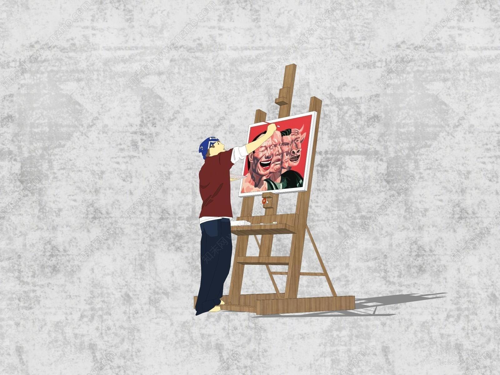 画架 绘画 画板固定架