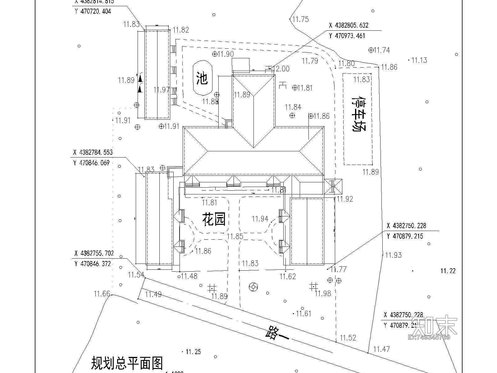 50套寺庙施工图下载【ID:749345739】