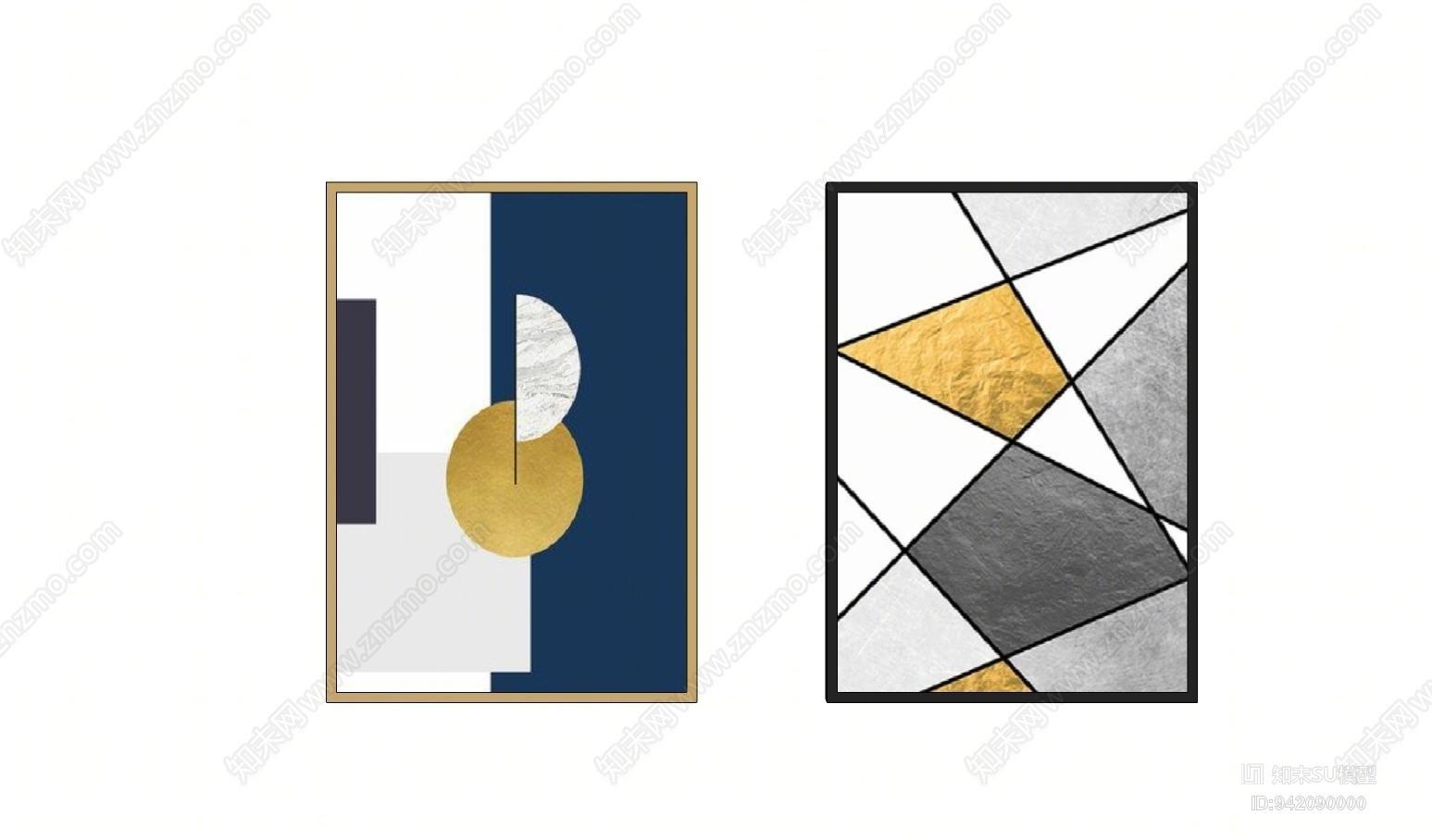 现代抽象装饰画 挂画