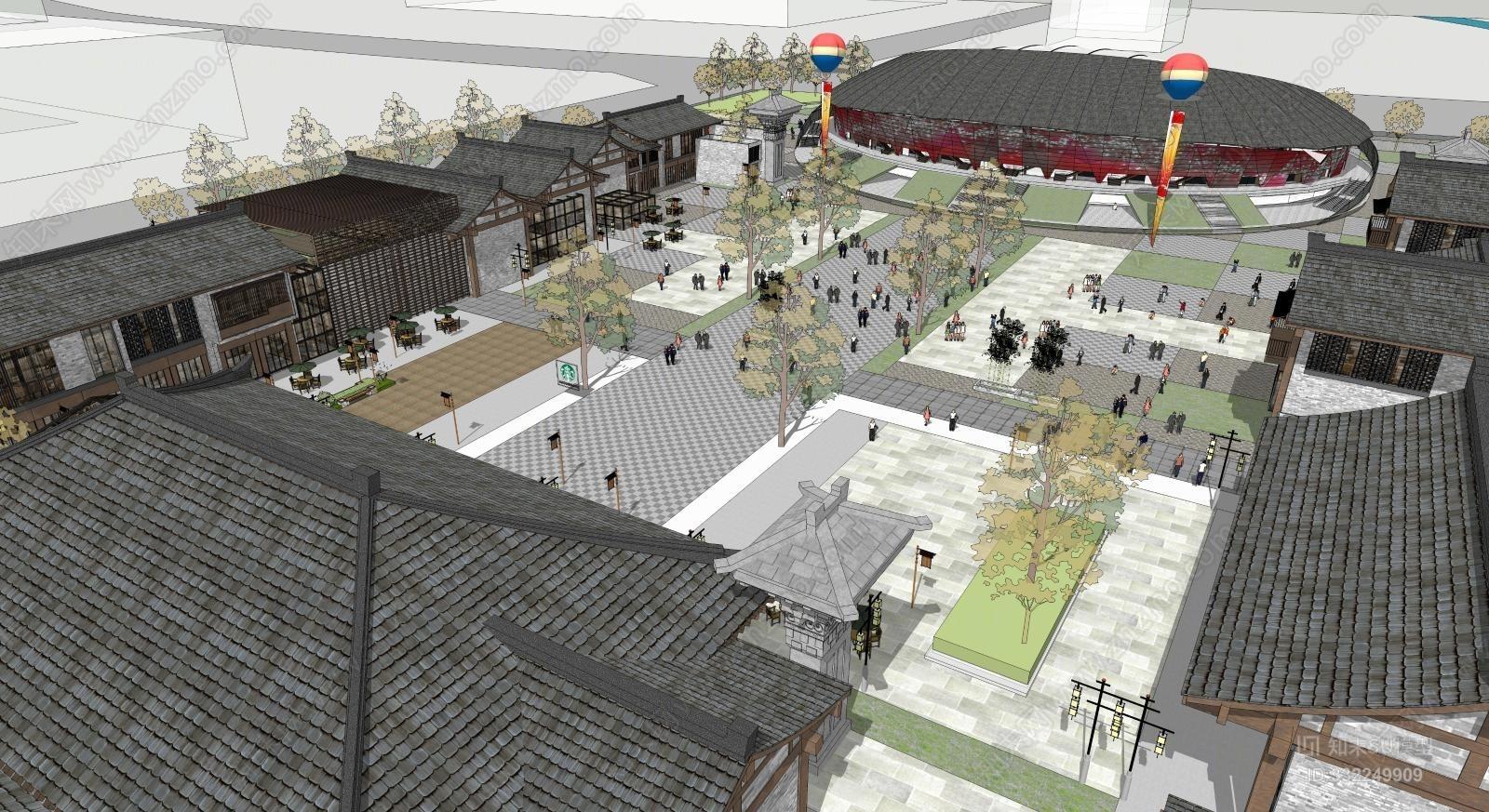 旅游文化主题商业街概念方案设计