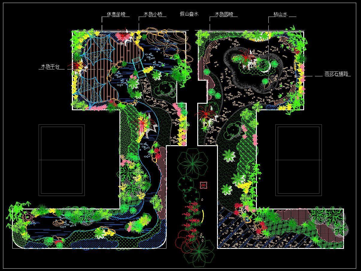 屋顶花园施工图下载【ID:333184951】