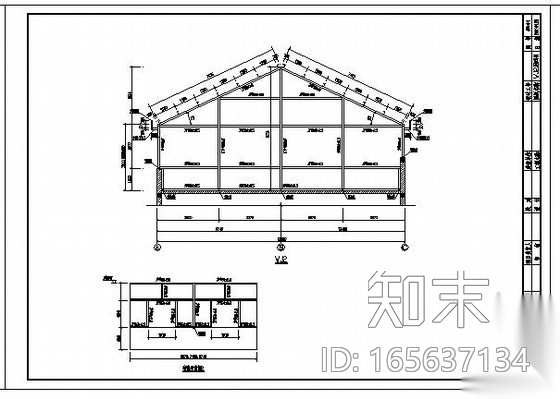 邯郸某住宅平改坡结构设计图施工图下载【ID:165637134】