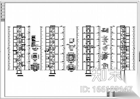 四川某酒店钢结构加固设计图施工图下载【ID:166102147】