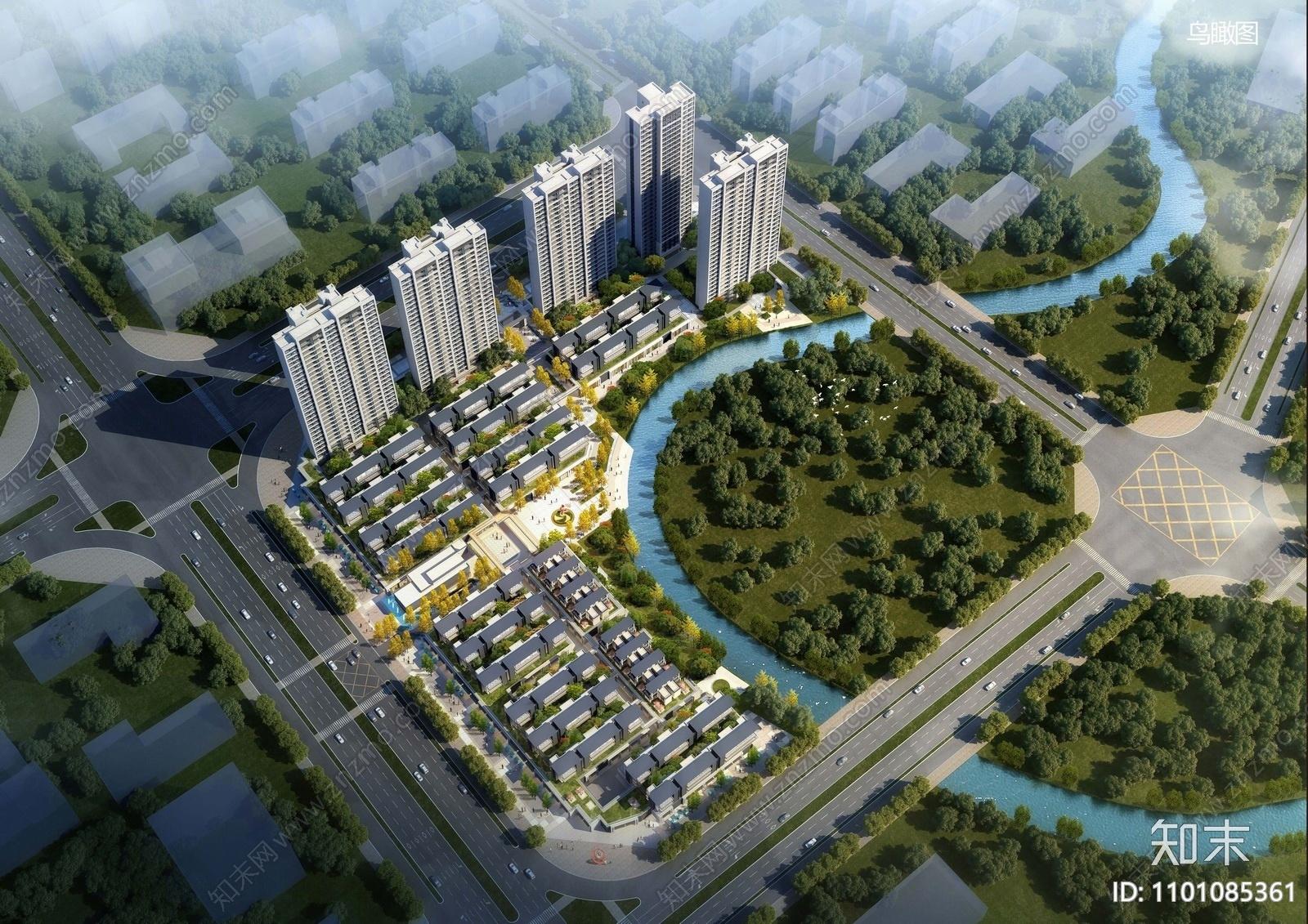 世茂南通市张芝山裕景地块产业小镇概念方案方案文本下载【ID:1101085361】