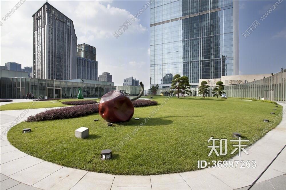 【英国贝诺Benoy】成都IFS国际金融中心高清摄影+竣工图施工图下载【ID:36997263】