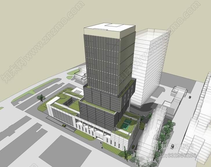 深圳圳市慢性病防治院医院SU模型