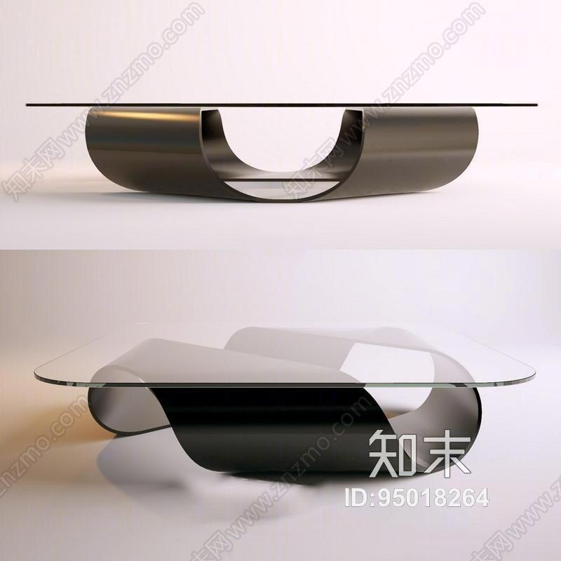 现代创意工业风格玻璃茶几null