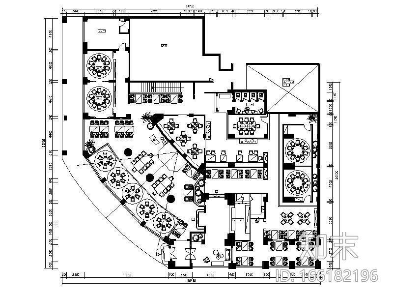 [浙江]慢生活音乐主题餐厅设计施工图(含效果图)施工图下载【ID:166182196】
