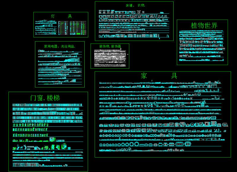 CAD全图库施工图下载【ID:149753141】
