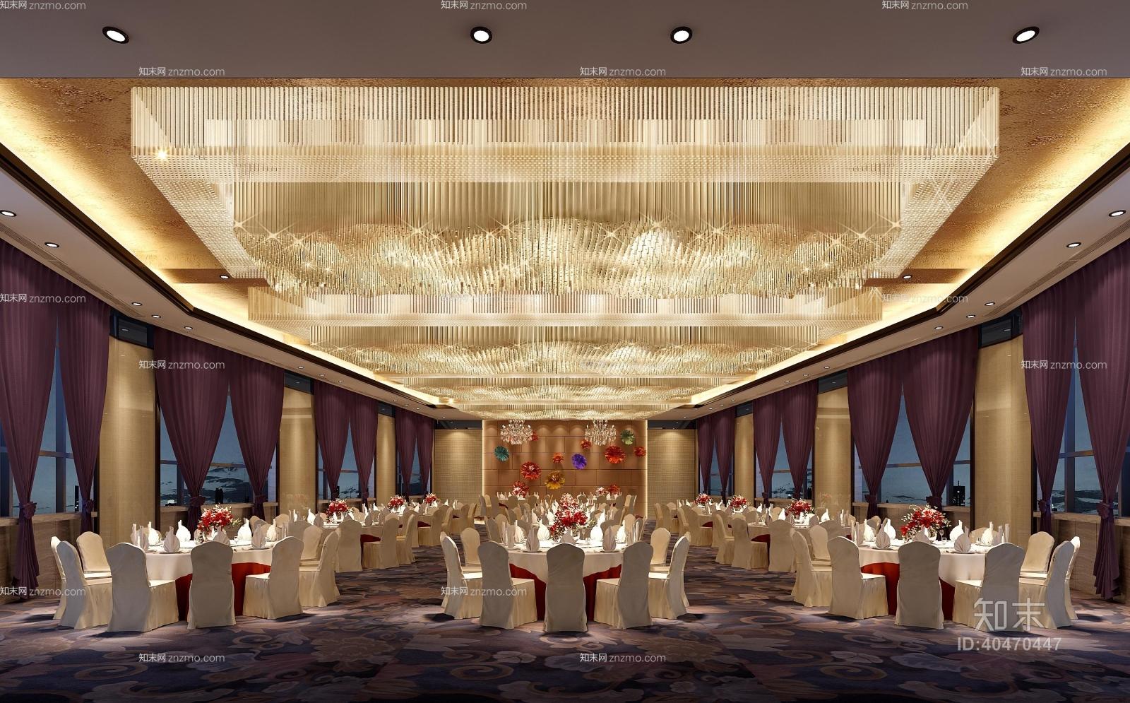 经典欧式酒店宴会厅