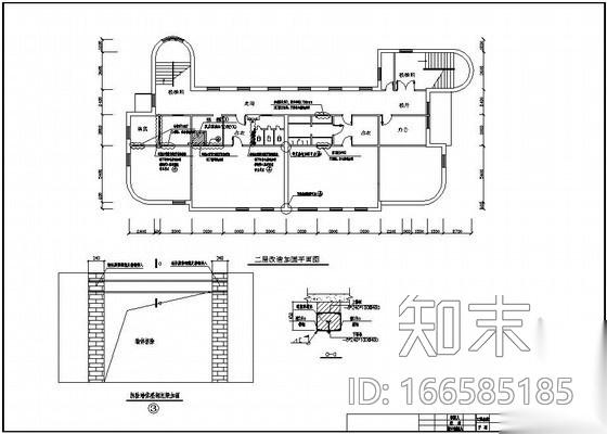 某砖混结构墙体开洞加固设计图施工图下载【ID:166585185】