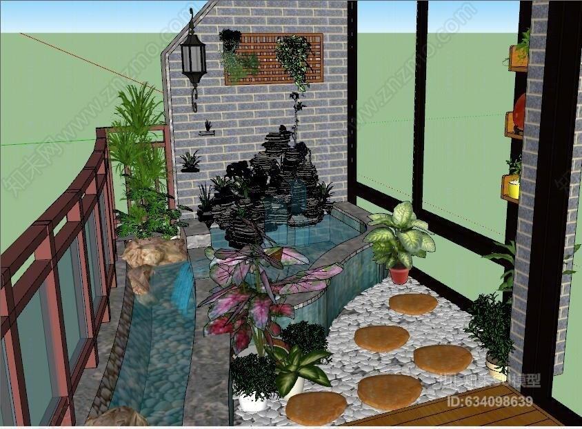 休闲花园阳台