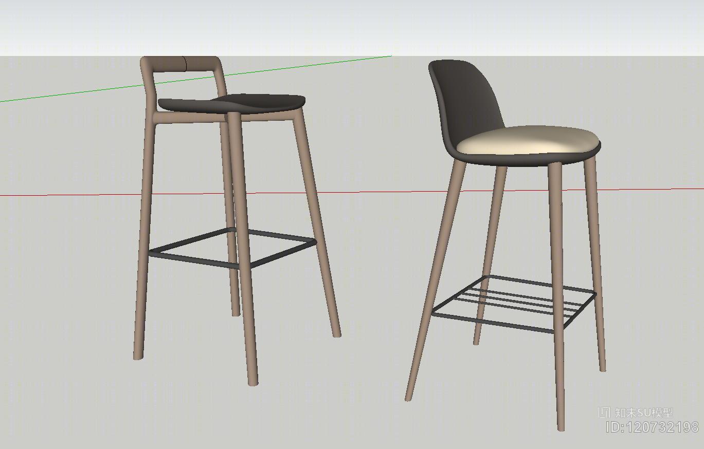 现代吧凳2个