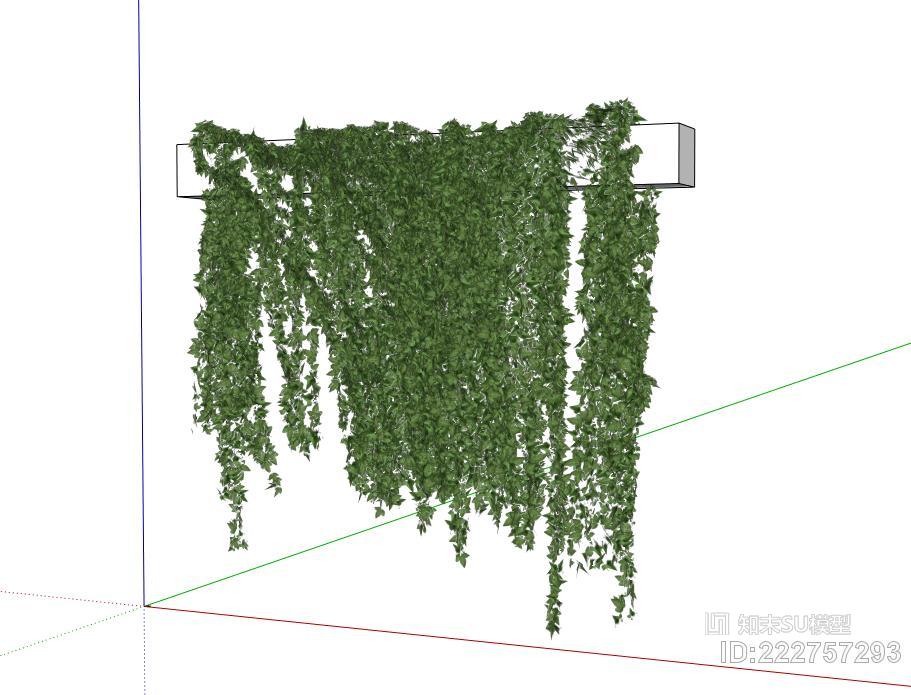 绿植墙 吊兰 仿真绿植 植物