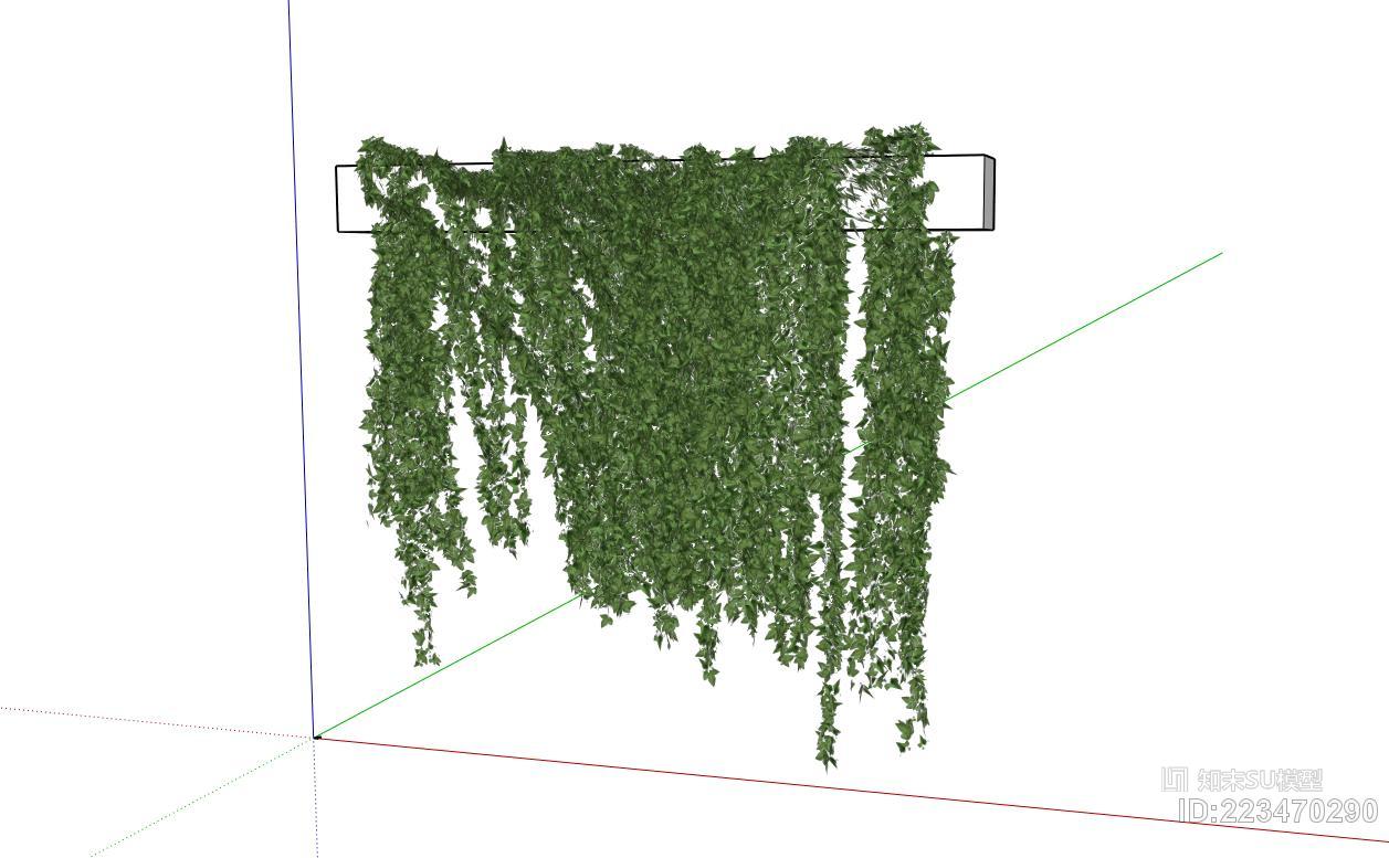 绿植墙 爬藤 爬山虎 仿真绿植 吊兰
