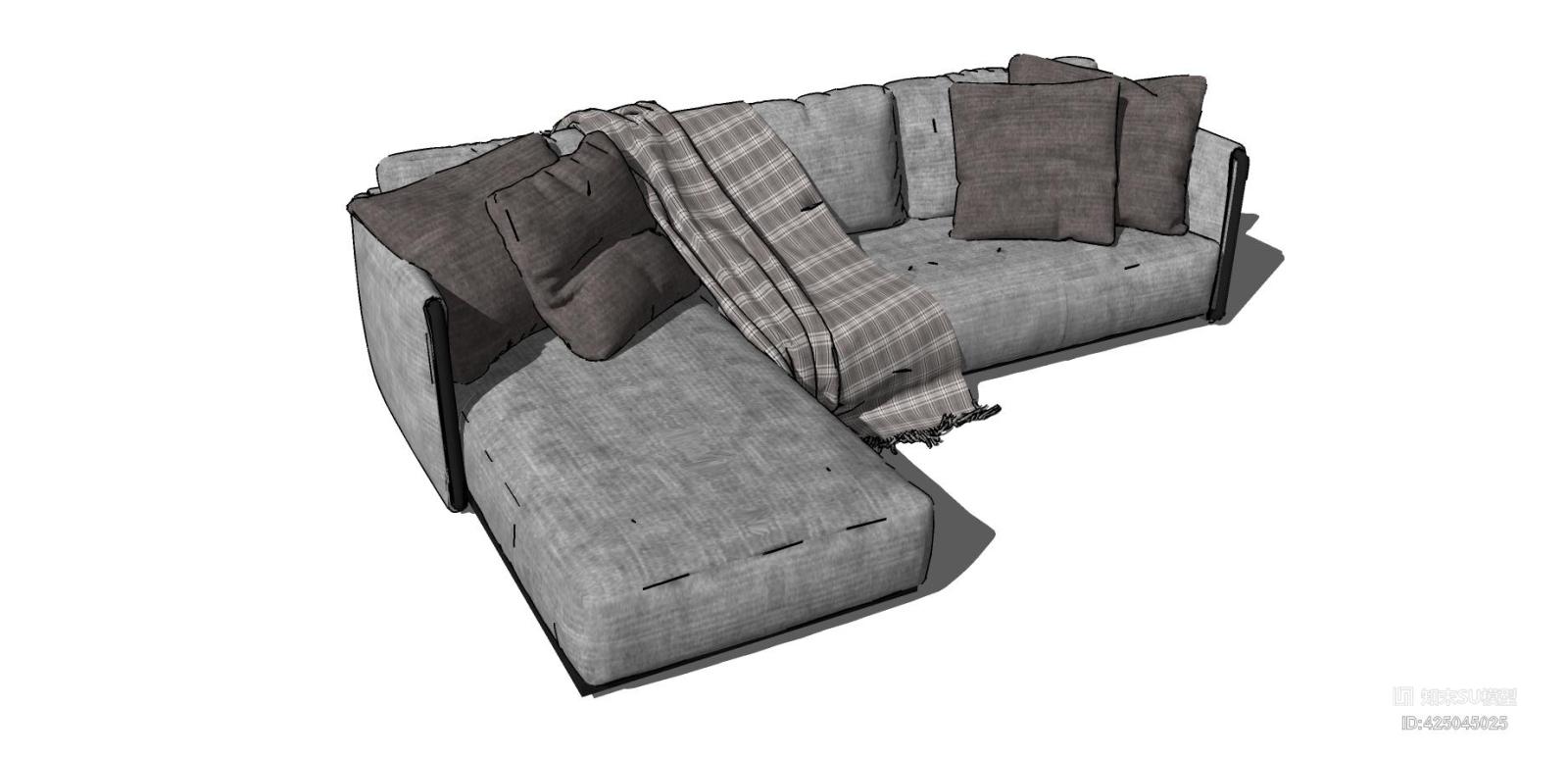 现代风格客厅沙发