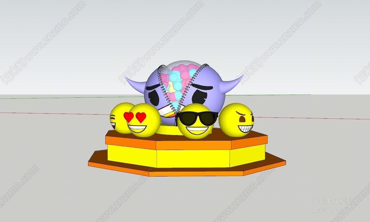 emoji表情美陈游乐场 风筝 其他 玩具 儿童图片